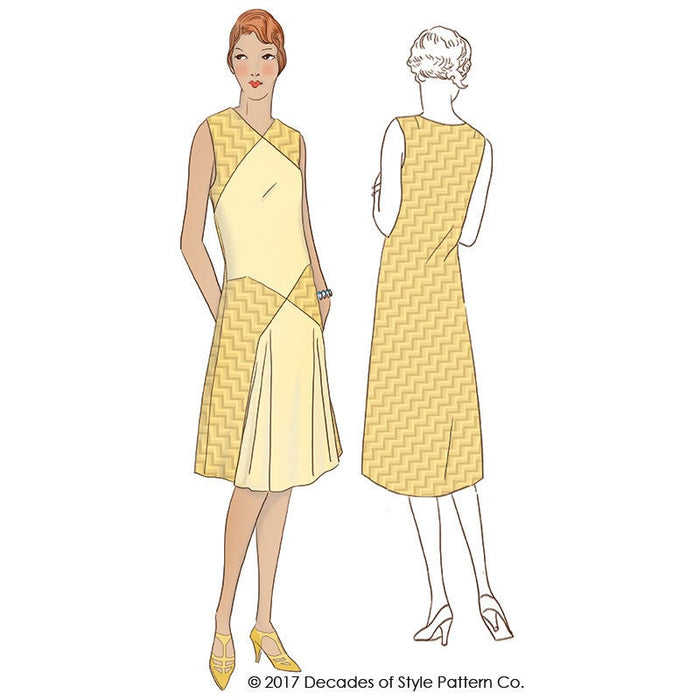 Baltimore Dress 1920 Decades of Style Vintage Style Sewing Pattern