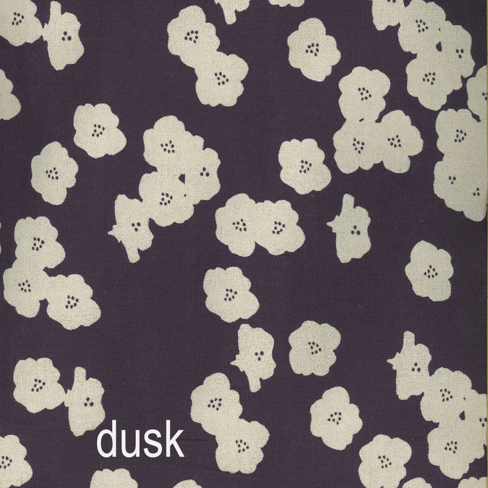 Birch Fabrics Organic Double Gauze Poppies