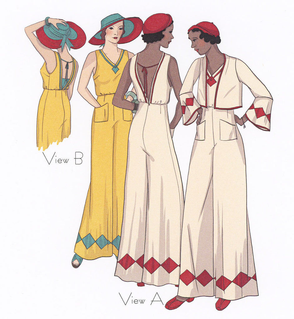 Last Resort 1930's Decades of Style Vintage Style Sewing Pattern