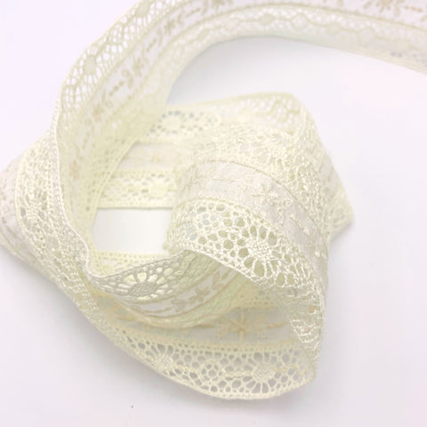 Cotton Lace Ribbon Trim