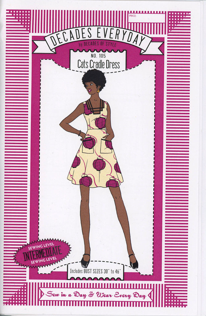 Cats Cradle Dress Decades of Style Vintage Style Sewing Pattern