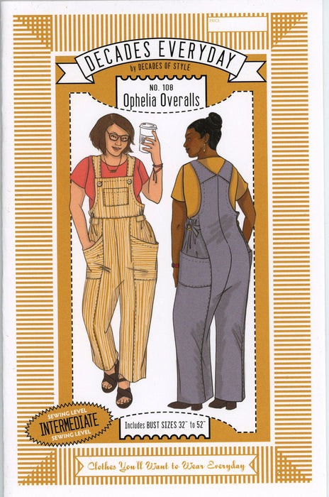 Ophelia Overalls Sewing Pattern