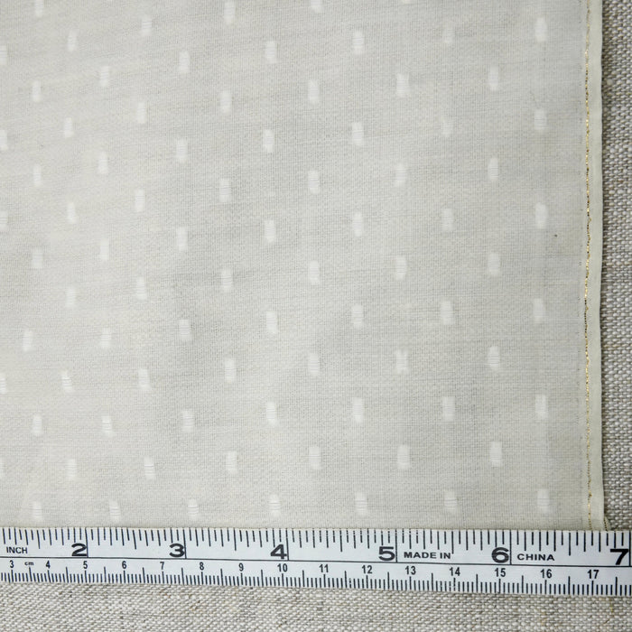 Sample Silk Linen Fabric