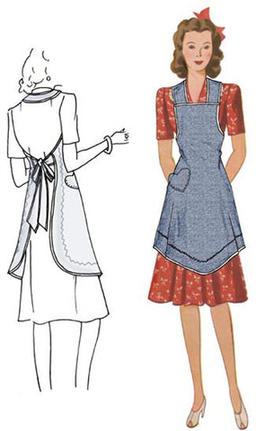Val's Apron  Decades of Style Vintage Style Sewing Pattern