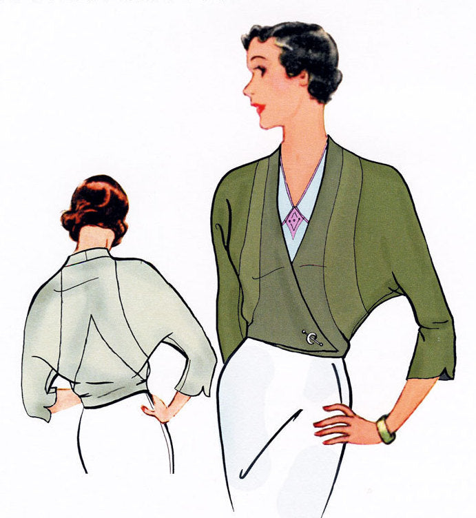 Lily Jacket 1930  Decades of Style Vintage Style Sewing Pattern