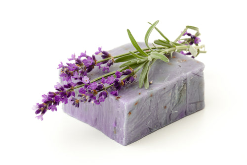 Vegan Organic Lavender Bar Soap