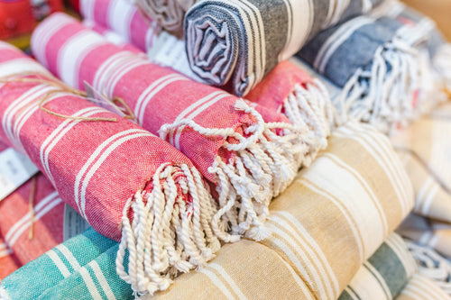 Peshtemal Striped Turkish Cotton Towel
