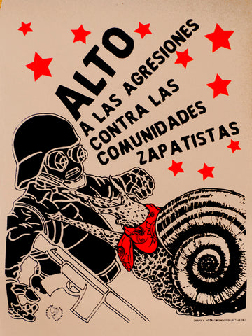Alto a las agresiones contra las comunidades zapatistas – Stop the agressions against Zapatista communities