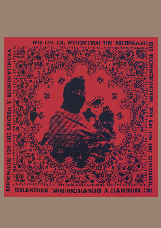 Paliacate Lucha y resistencia – Struggle and resistance bandana