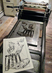 "New ""Working Hands of Eastern Maine"" Letterpress Poster series (All four images)"