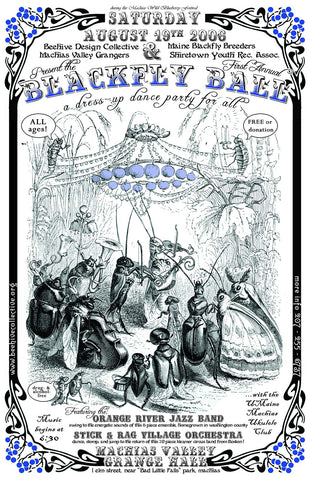 2006 Blackfly Ball Poster