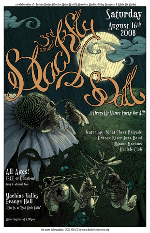 2008 Blackfly Ball Poster