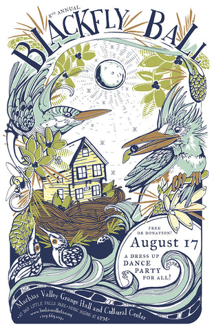 2013 Blackfly Ball Poster
