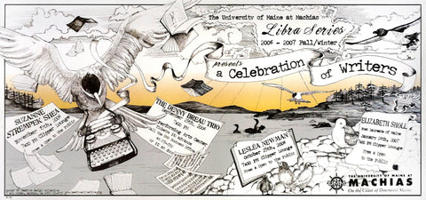 A Celebration of Writers Poster