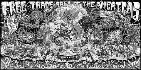 FABRIC Free Trade Area of the Americas Poster