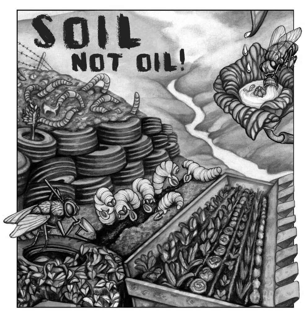 Soil not oil beehive design collective store for Soil not oil