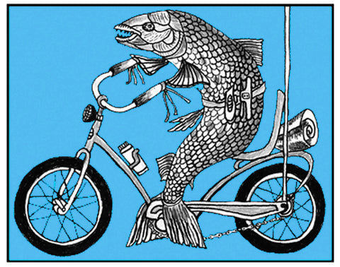 Fish on Bike
