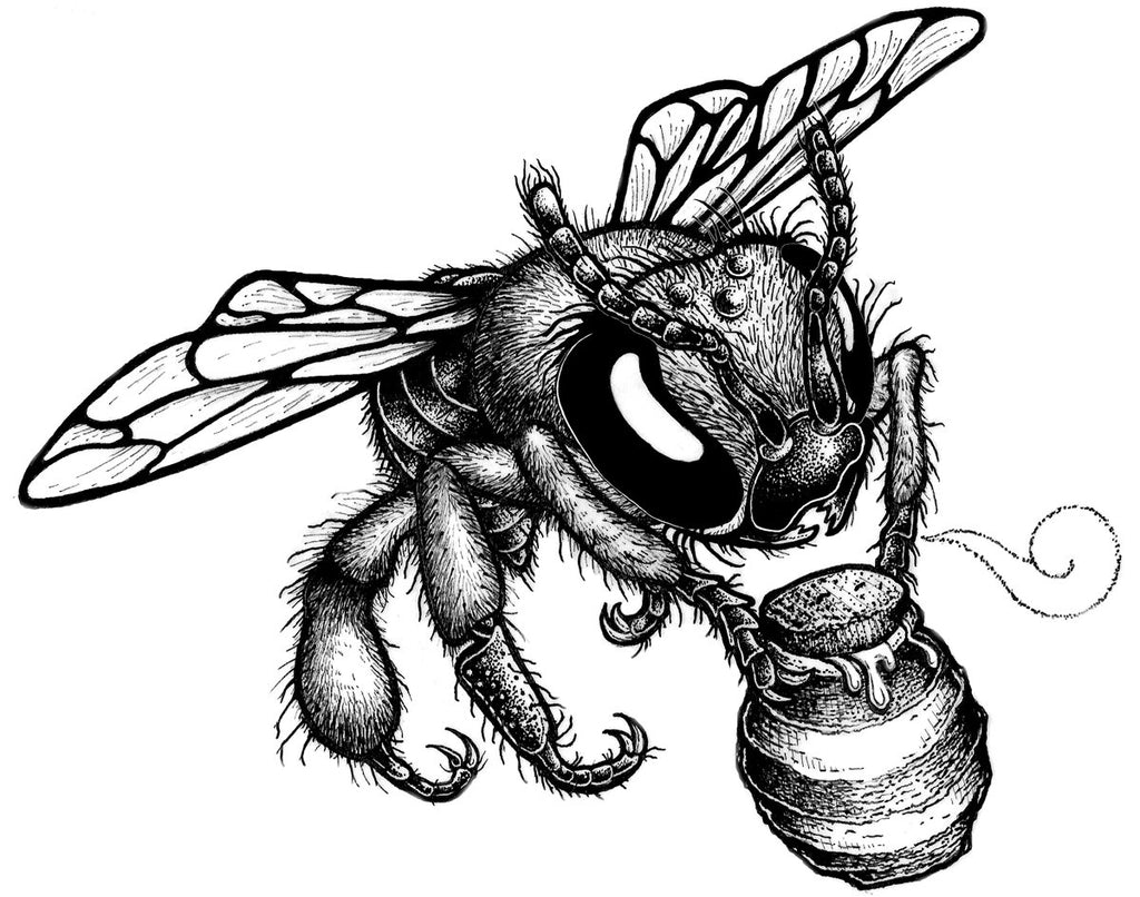 donate to the bees beehive design collective store Bee Clip Art donate to the bees