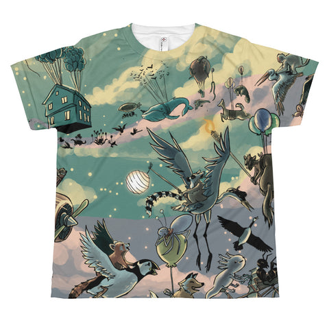 2011 Blackfly Ball All-Over Print Youth T-shirt