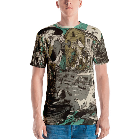 Long Memory All-Over Print Men's T-shirt