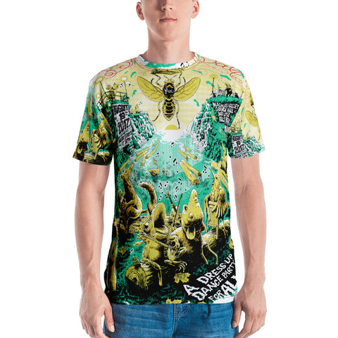 2017 Blackfly Ball All-Over Print Men's Style T-shirt
