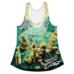 2017 Blackfly Ball All-Over Print Women's Style Racerback Tank