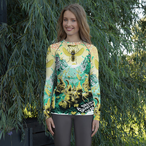 2017 Blackfly Ball Women's Style Sports Rash Guard