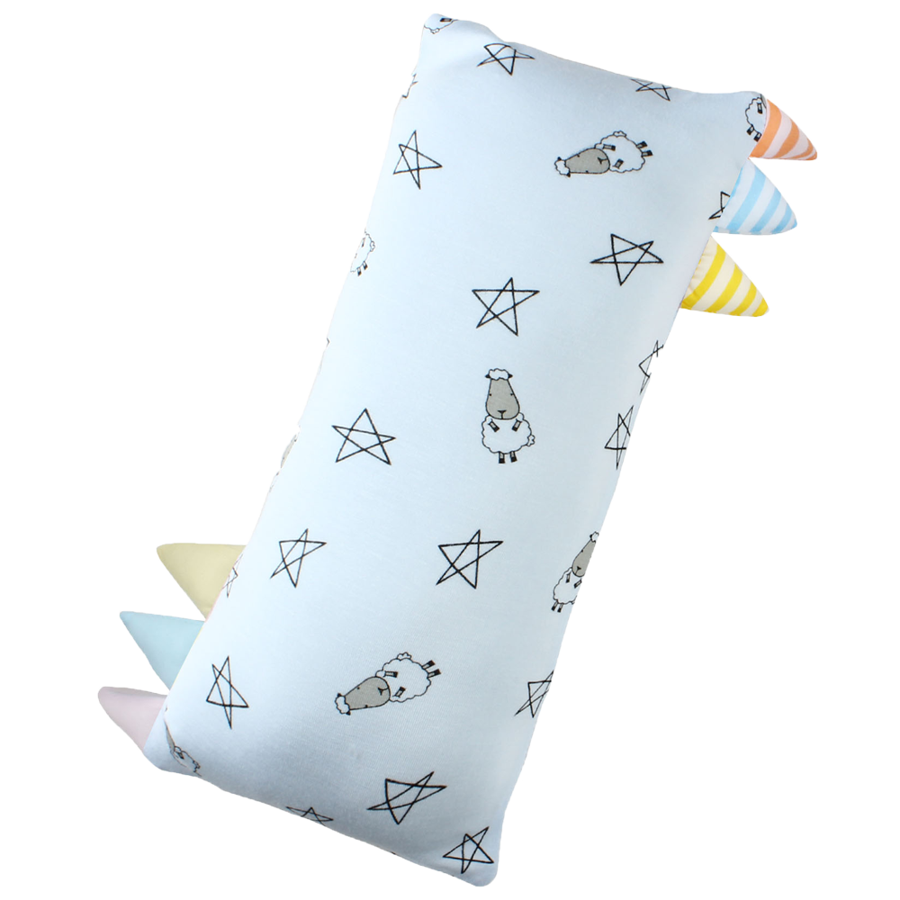 Bed-Time Buddy Small Star & Sheepz Blue with Colour & Stripe tag - Medium