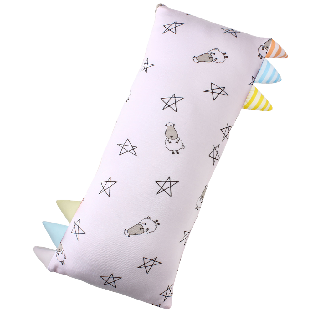 Bed-Time Buddy Small Star & Sheepz Pink with Colour & Stripe tag - Medium