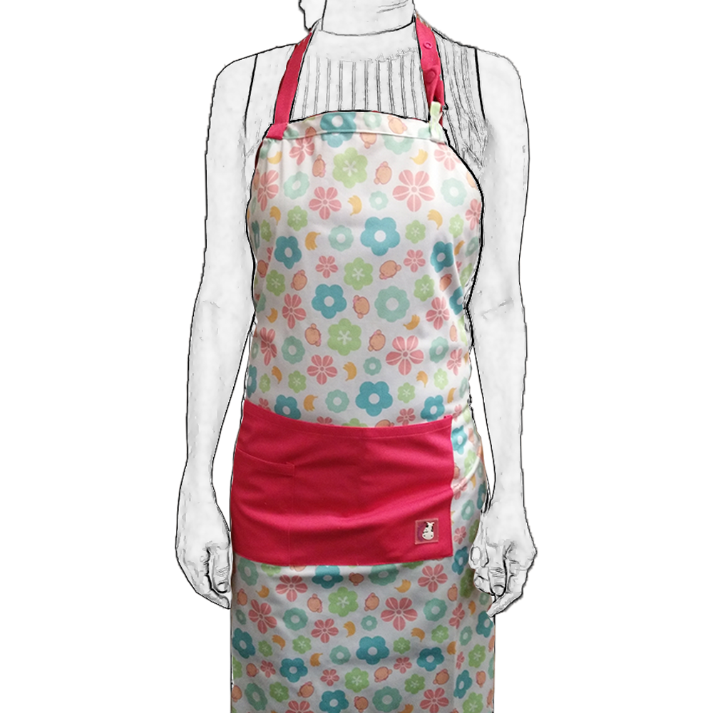 Bath Time Apron - Mooky Flower