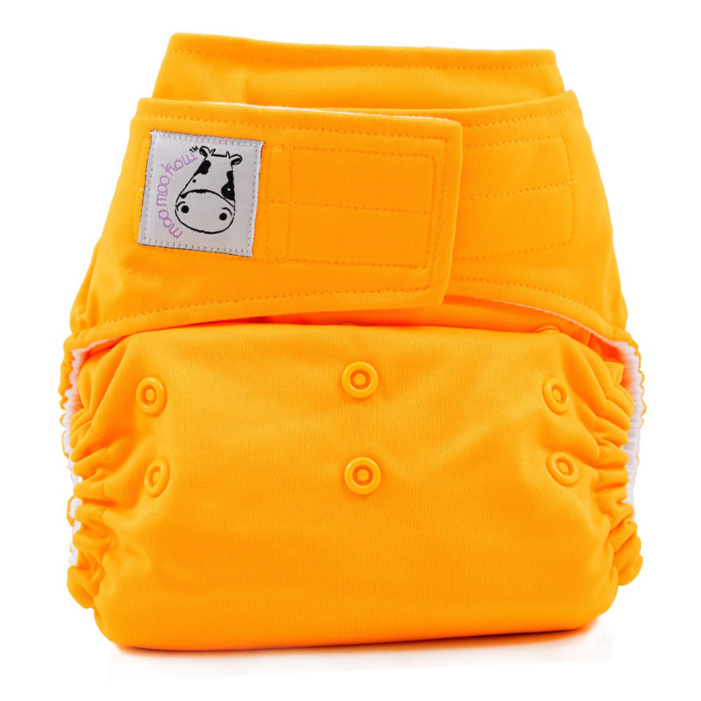 Cloth Diaper One Size Aplix - Light Orange