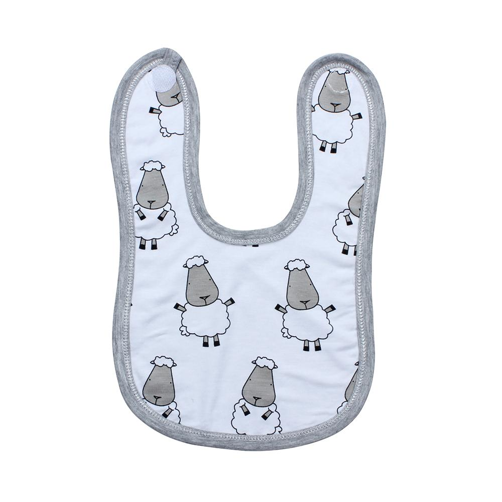 Bib Big Sheepz White