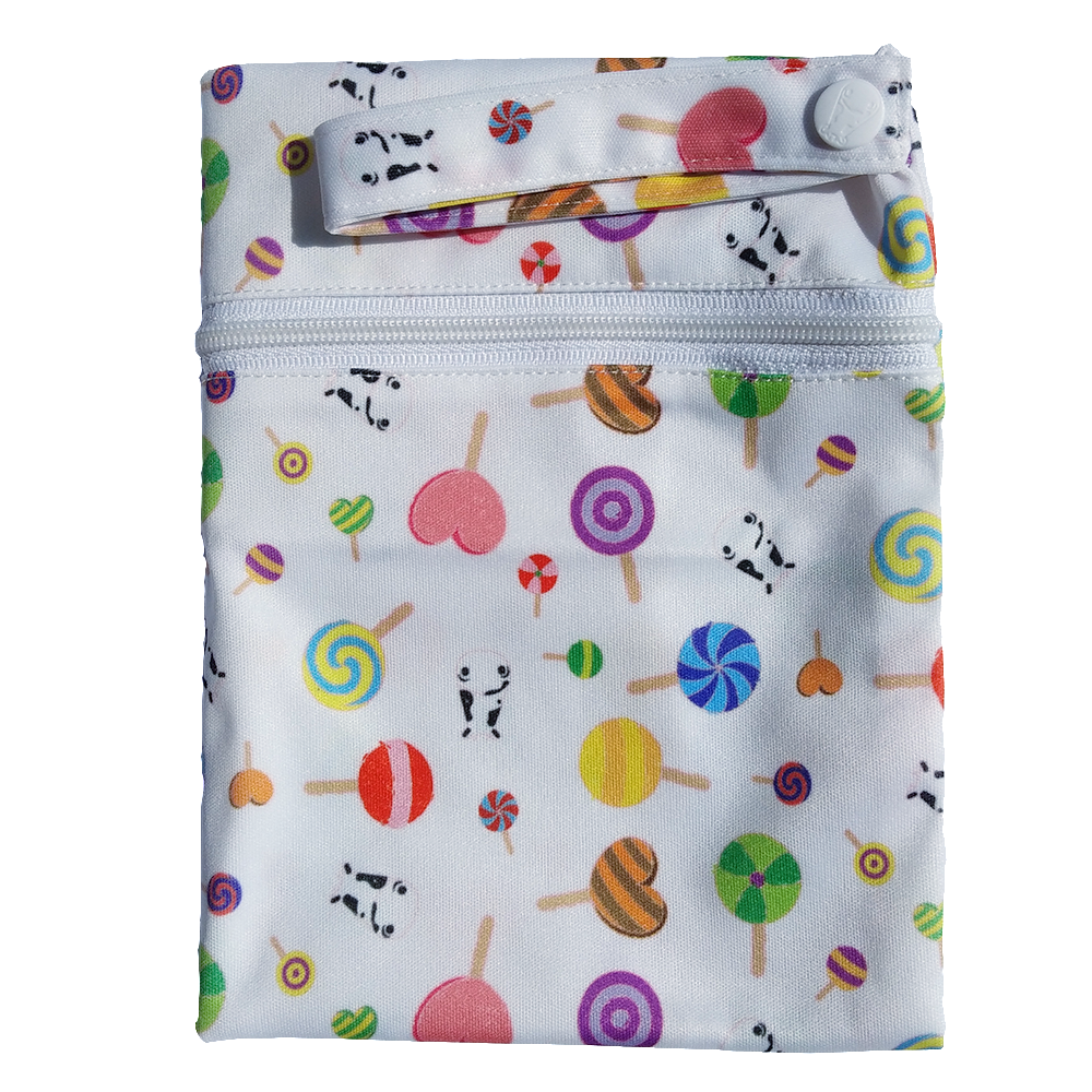 Wet Bag Large - Lollipop