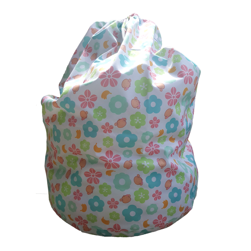 Pail Liner / Laundry Bag - Mooky Flower