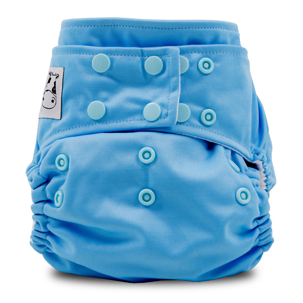 Cloth Diaper One Size Snap - Sky Blue