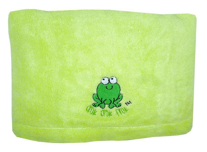 CrokCrokFrok Bamboo Towel for Kids & Adult - Apple Green - Large
