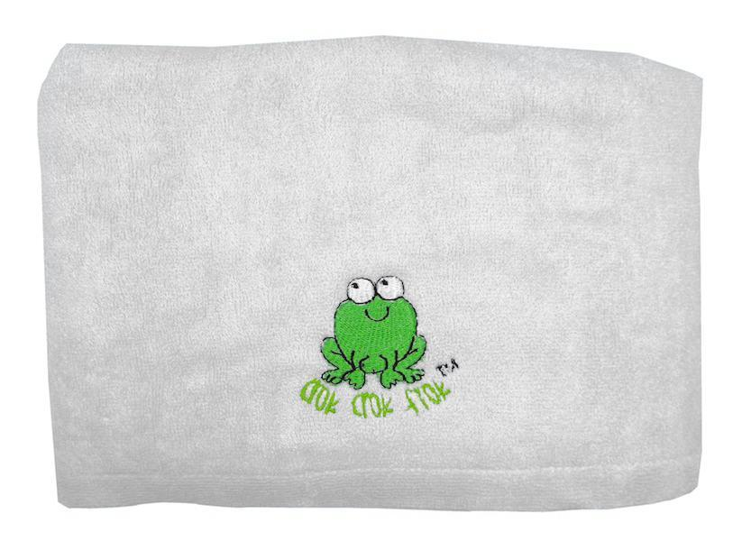 CrokCrokFrok Bamboo Towel for Kids & Adult - White - Large