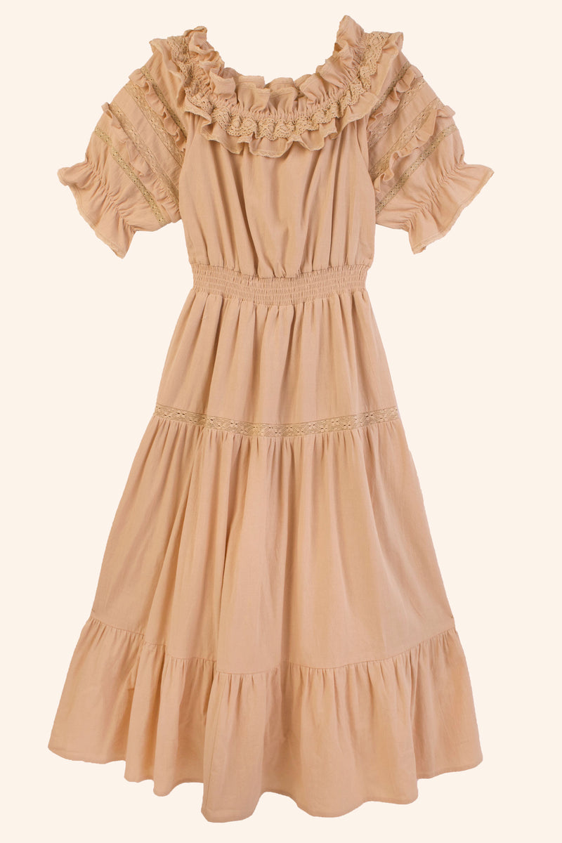 Blossom Dress Wheat