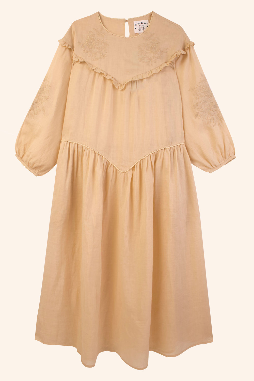 Camellia Dress Oatmeal
