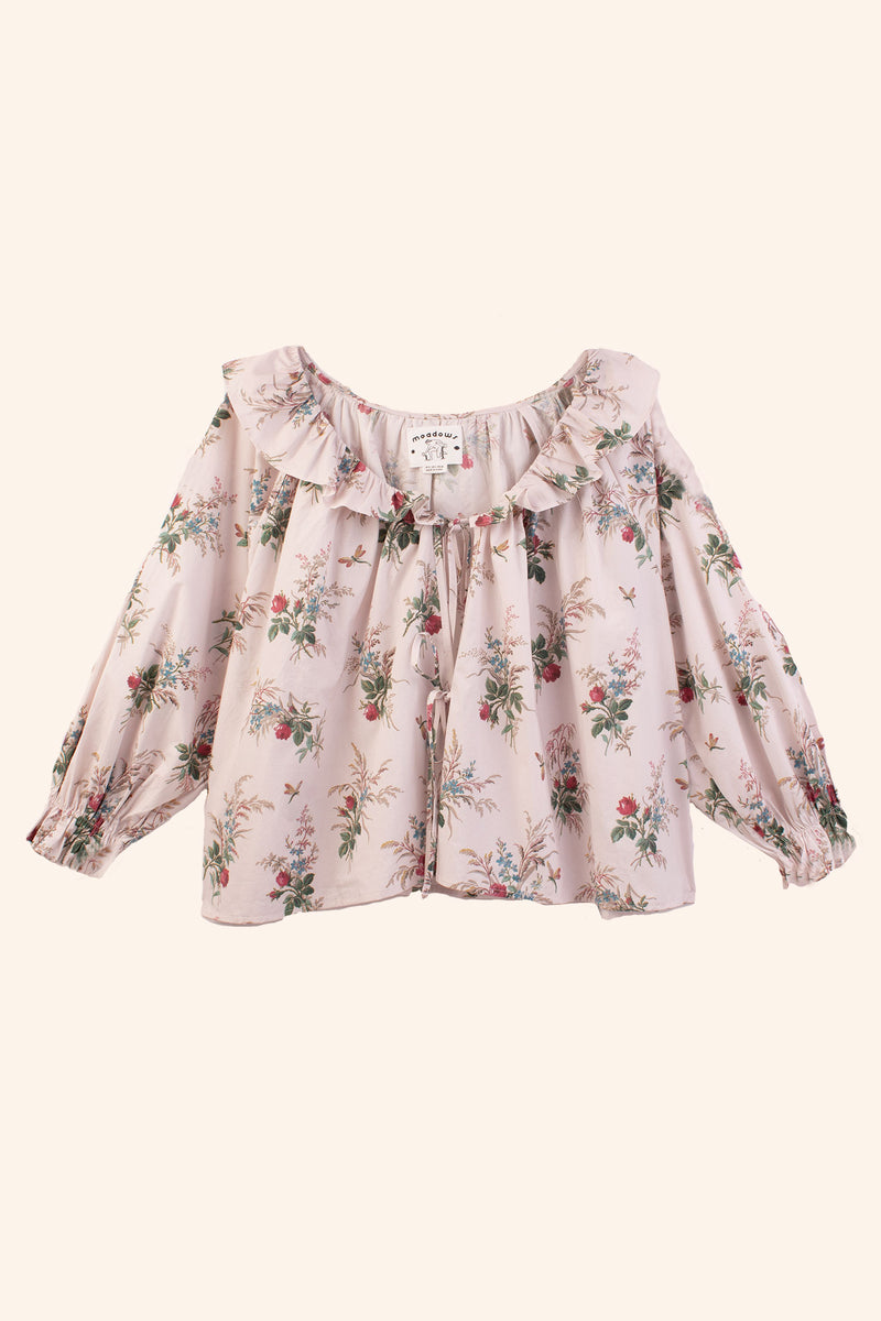 Hosta Shirt French Floral