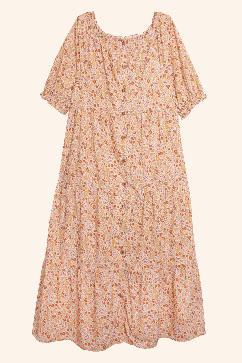 Nerine Dress Vintage Country Floral