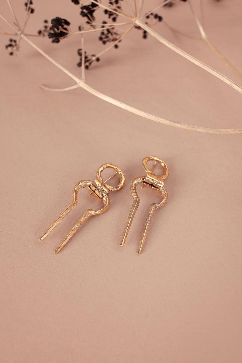 Korban Earrings Gold
