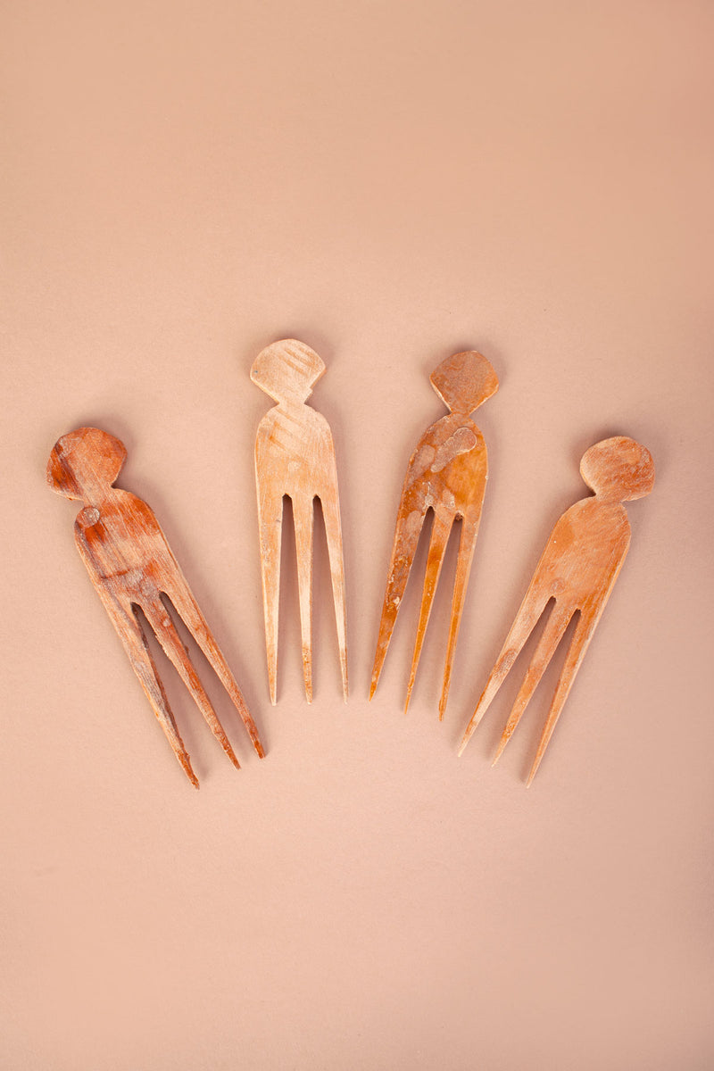Wooden Hair Pin