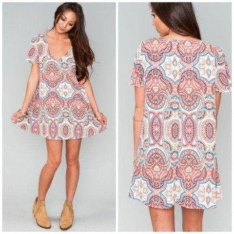 Show Me Your Mumu Paisley Kylie Mini Dress