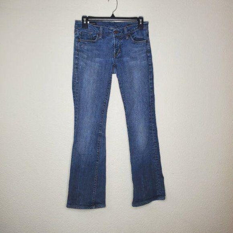 Citizens of Humanity Low Rise Boot Cut Jeans