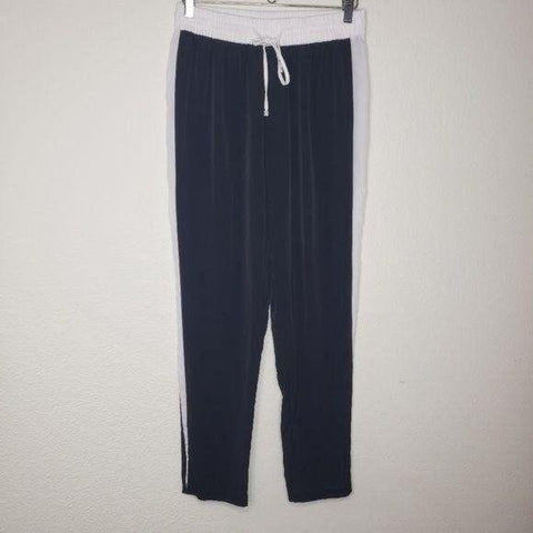 Calvin Klein Black White Stripe Smooth Joggers
