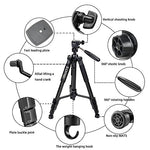 Portable Aluminum Camera Tripod