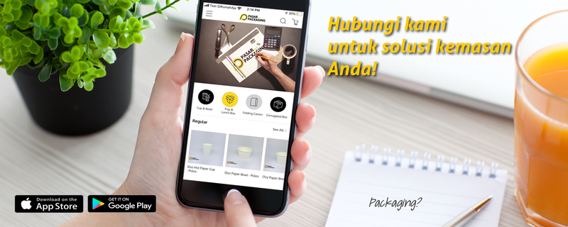 Pasar Packaging Mobile Apps Launch!