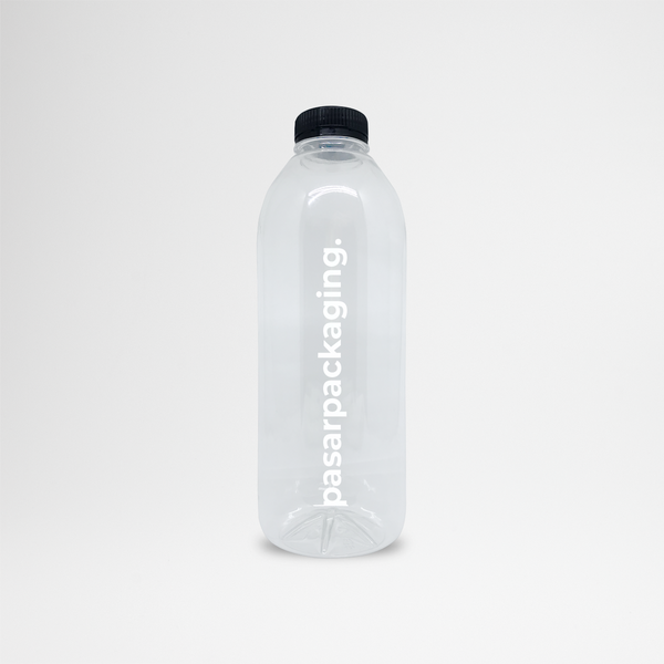 1000ml PET Bottle - Sablon - Pasar Packaging