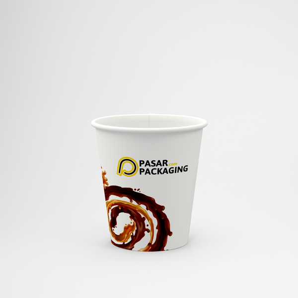 12oz Hot Paper Cup - Printed